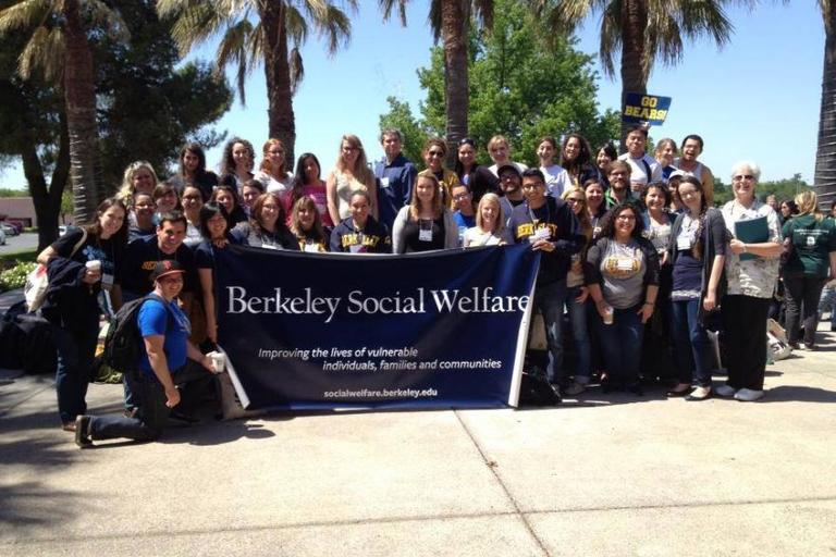 Berkeley Social Welfare Students in Sacramento