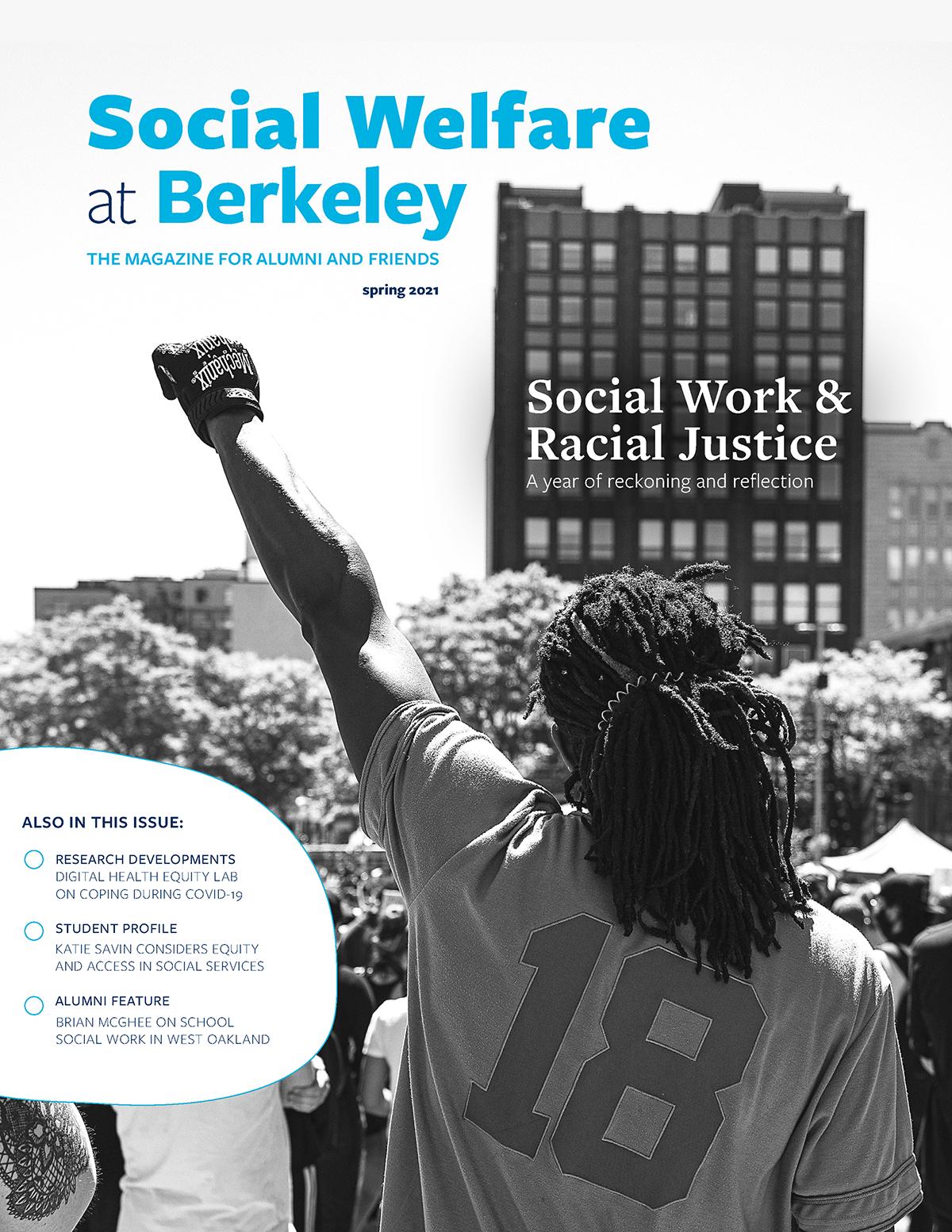 cover of Social Welfare at Berkeley, Spring 2021