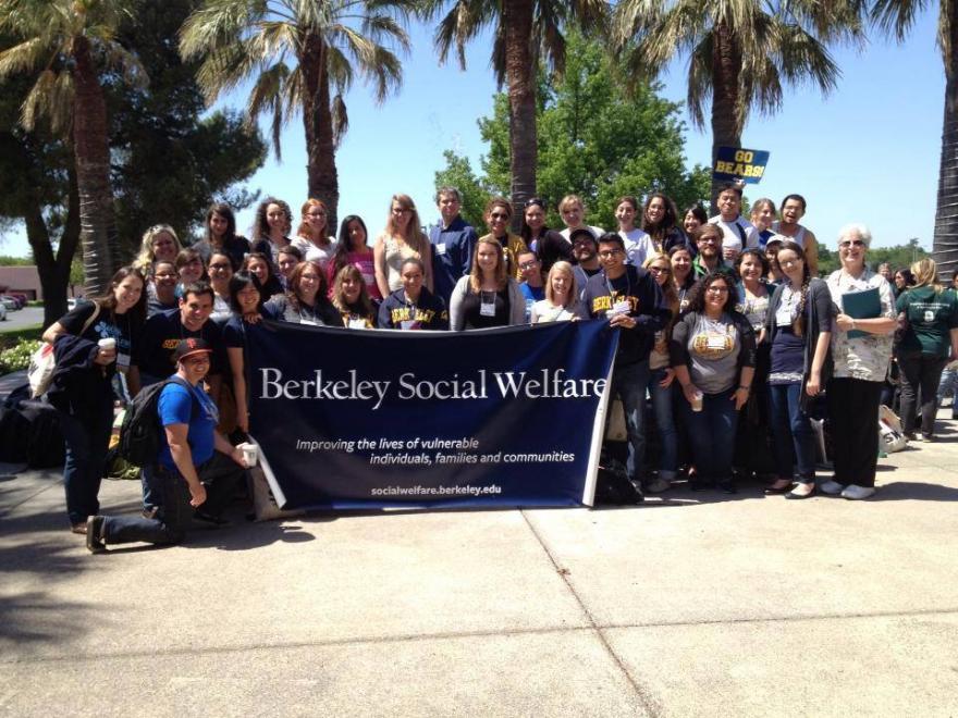 Berkeley Social Welfare Students in Sacramento