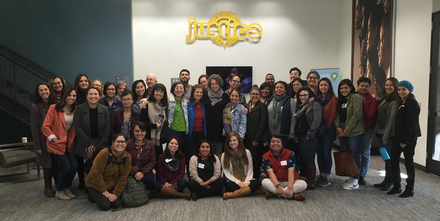 group photo from LCOE training in solution-focused brief therapy